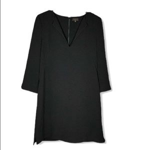 Aritzia T. Babaton size 8 Black Dress V Neck